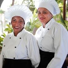 Ariana Santos e Marivone Bispo (Guarajuba)